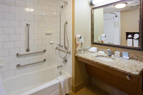 Hampton Inn Duluth: Accessible bath tubs available