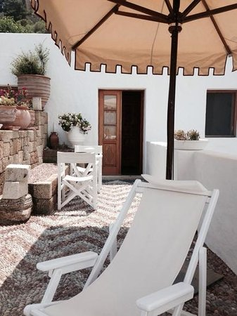 Melenos Lindos Hotel: our terrace