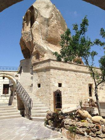 Cappadocia Cave Suites: Common area