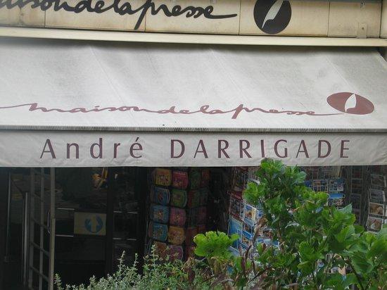 Rocher de la Vierge : Biarritz, il negozio del velocista Dédé Darrigade