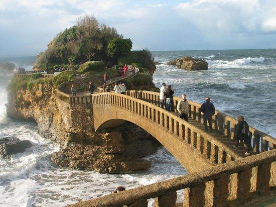 Rocher de la Vierge : Biarritz, la furia dell'Atlantico