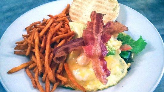 Sunset Grill: The Big Ass Egg Sandwich