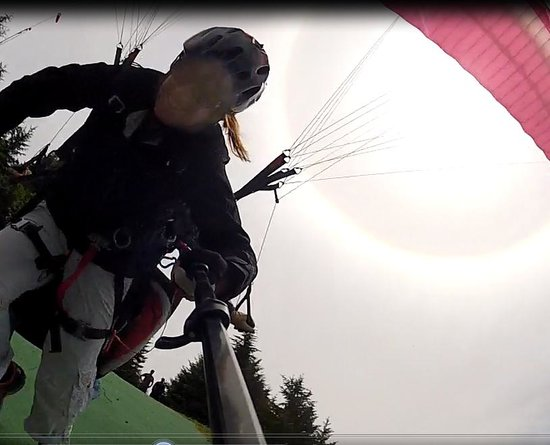 Parafly Paragliding: Take-off