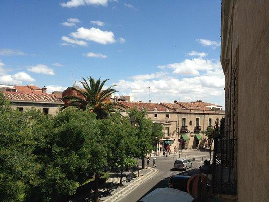 NH Collection Cáceres Palacio de Oquendo: Vistas desde la habitación