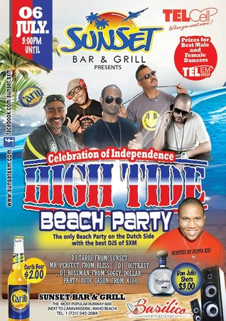 Sunset Beach Bar: Beach Party