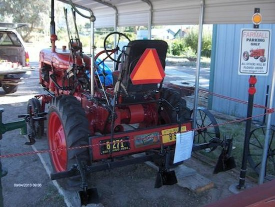 Grand Junction, CO: 1945 Farmall A Model