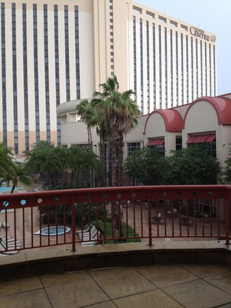 Rosen Centre Hotel: View from conference room balcony