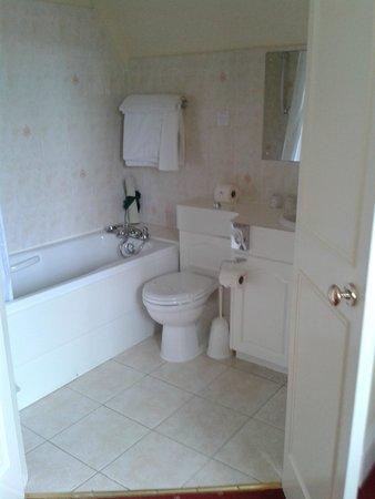 Branston Hall Hotel: Clean large bathroom