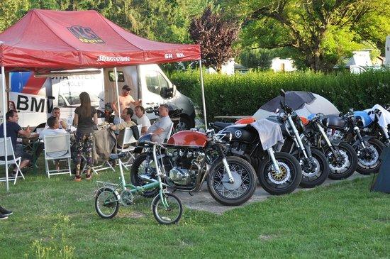 Camping Le Beau Village de Paris : Festival Cafe Racer 2014