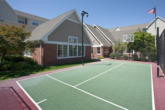 Residence Inn Salt Lake City Airport: Outdoor Sport Court