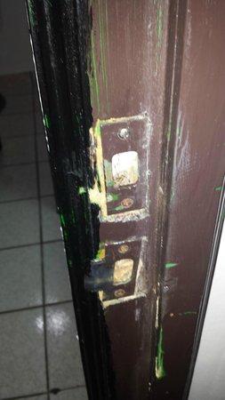 Coral Costa Caribe Resort & Spa: cerradura de la puerta