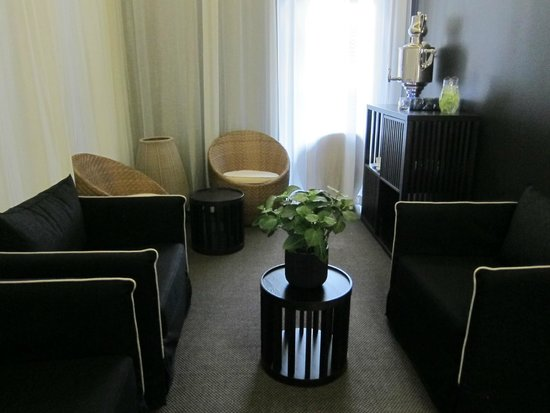 Hedon Spa & Hotel: Waiting area at the spa.