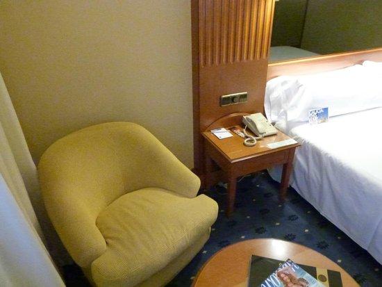 TRYP Coruna Hotel : Espacio de lectura o relax.