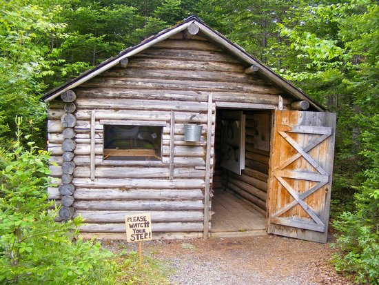 Logger's Life Provincial Museum: Cabin along the trail
