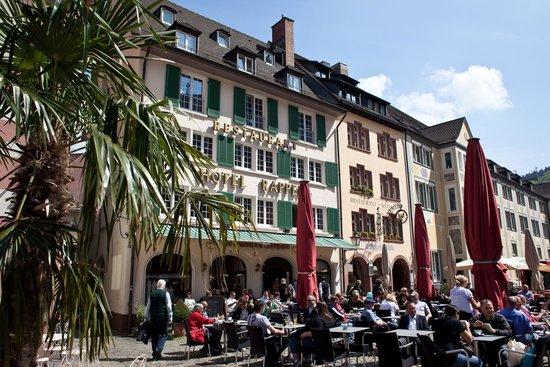 Hotel Rappen am Münsterplatz: Vom Münsterplatz