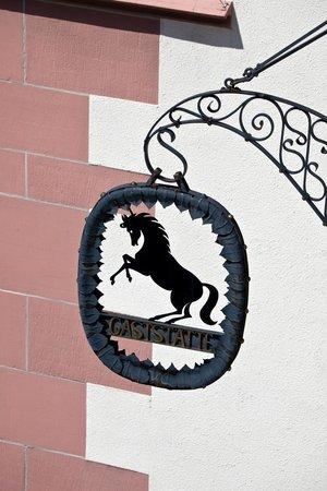 Hotel Rappen am Münsterplatz: Das Rappen-Wappen