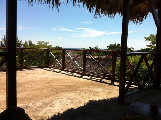 Orangea Village : vista dalla terrazza della camera