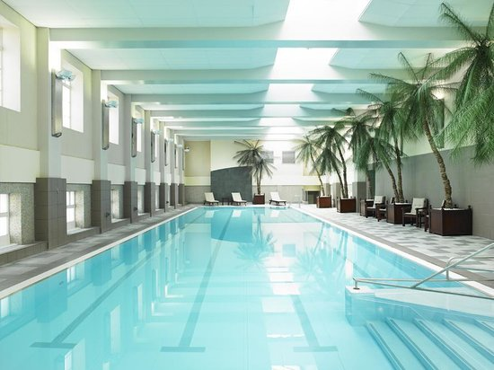 Marriott London County Hall: The beautiful 25m Swimming Pool