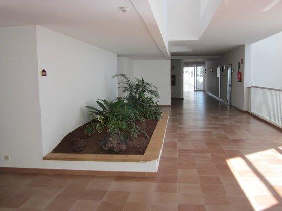 ClubHotel Riu Paraiso Lanzarote Resort: corridor near reception