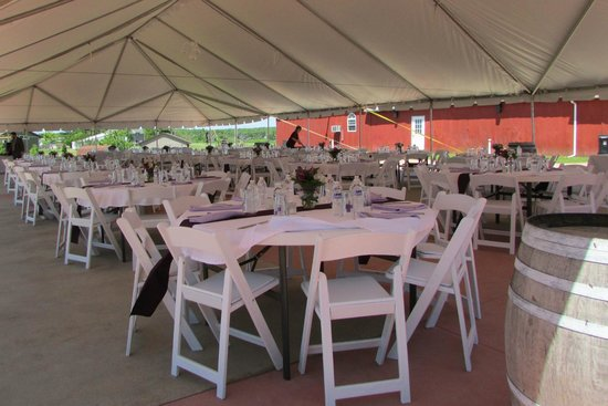 Thousand Islands Winery Wedding Venue Event Tent