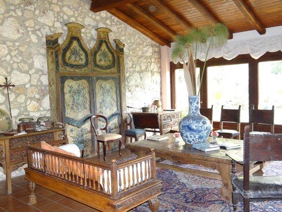 Villa dei Papiri: petit déjeuner