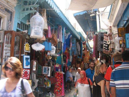 Medina de Túnez: Artère principale souk de tunis