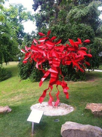 Palmengarten: New sculpture!!