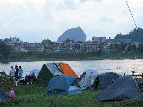Guatapé, Colombia: Zona de Camping