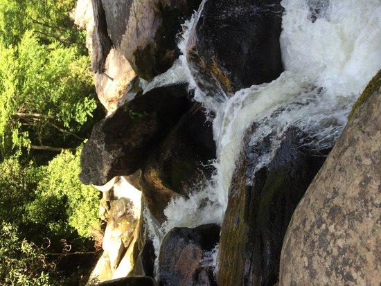 Whitewater Falls: Below White Water Falls
