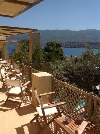 view from Eleonas studios