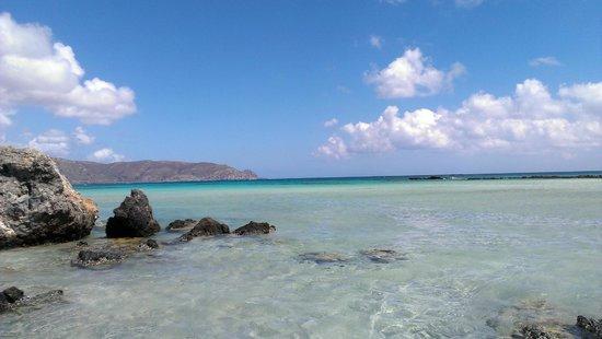 Plage d'Elafonissi : plaża