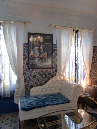 Riad El Reducto: suite casablanca