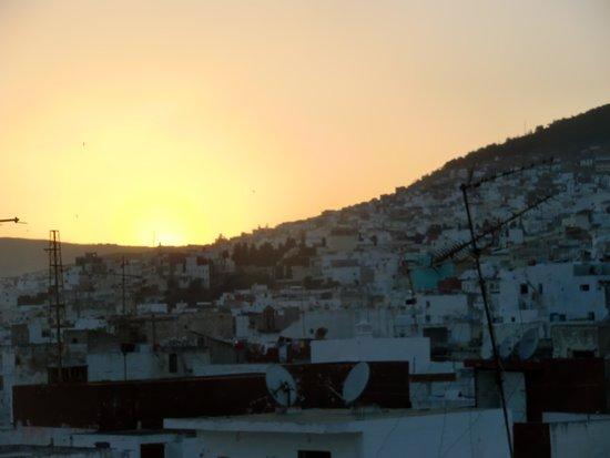 Riad El Reducto: terraza