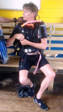 Dive Friends Bonaire : all divers are a little crazy