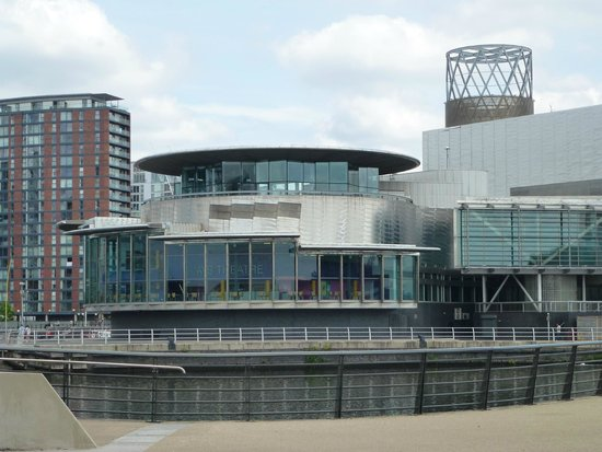 Imperial War Museum North: View