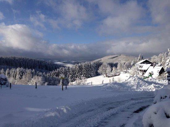 Berghotel Lenneplätze Winterberg: winter