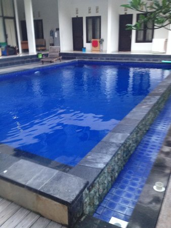 Seminyak Point Guest House: Nice small pool, quiet but central location