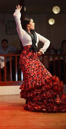 El Tablao de Carmen: Dansçı