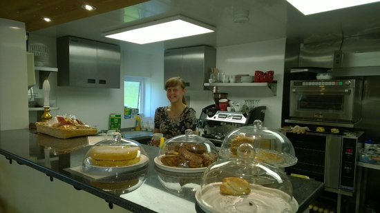 Withypool Tea Rooms: Friendly staff