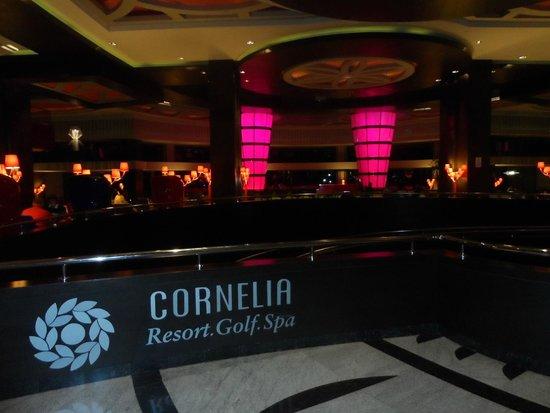 Cornelia Diamond Golf Resort & Spa: lobby