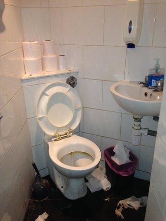 Arsenal Tavern: Les toilettes de la mort