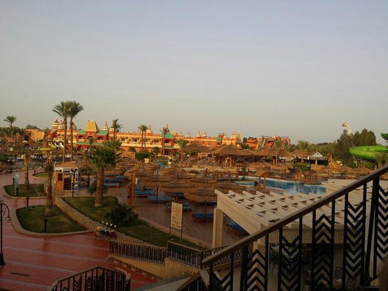 Aqua Blu Sharm: View from balcony