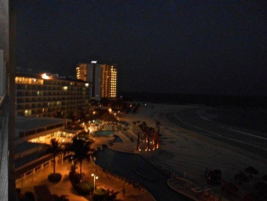 Krystal Cancun : La vista desde la habitación es muy bonita!