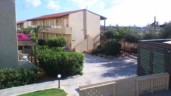 SENTIDO Vasia Resort & Spa : l'immeuble où nous étions logés