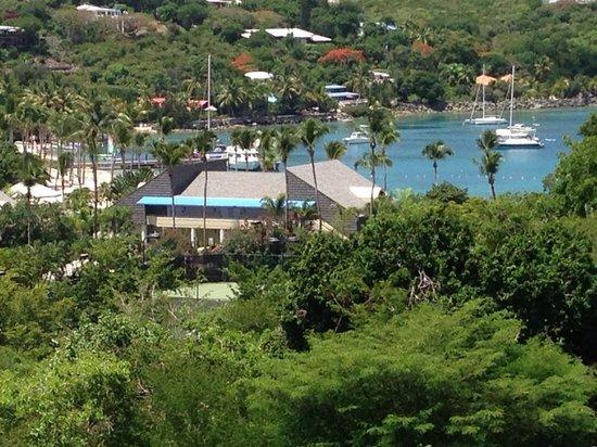The Westin St. John Resort Villas: view from villa