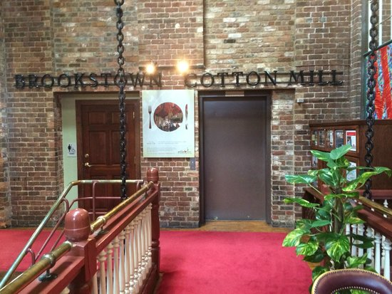 Brookstown Inn : adjoining tourism office, conference area