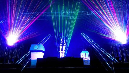 Illuminasia: Laser show