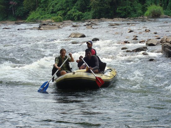 Rafters Retreat: rafting