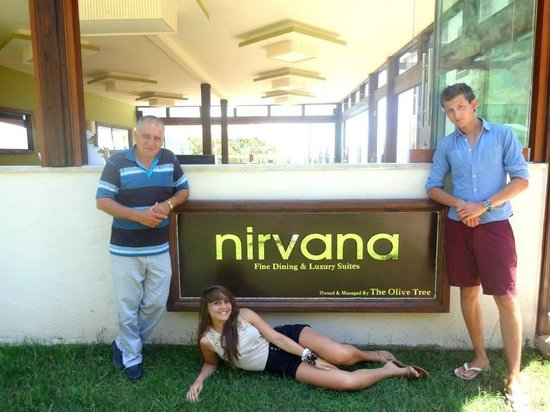 Nirvana Boutique Hotel: us and Halil