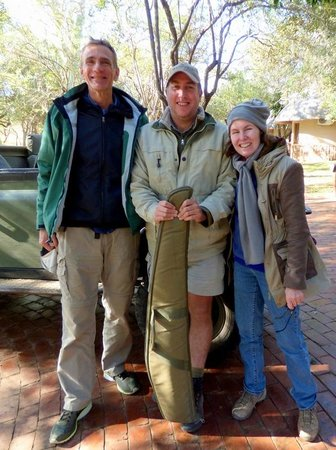 Serondella Game Lodge: Serondella Guide and Manager Chewie (June 7-10, 2014) stands between us